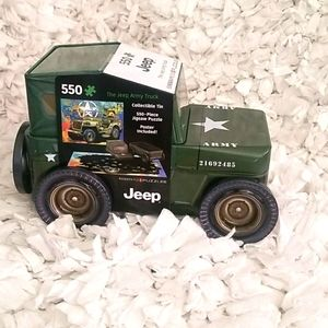 JEEP ARMY TRUCK PUZZLE